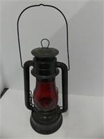 """15"""" DIETZ NO. 70 RED GLASS LANTERN"""
