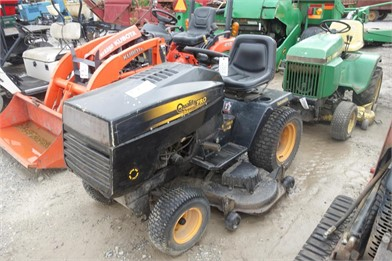 QUALITY PRO Lawn Tractor Auction Results - 1 Listings