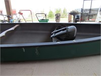 """14' 7.5"""" POLY 2-PERSON CANOE"""