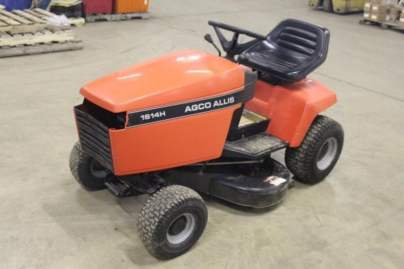Agco Allis 1614h Riding Lawn Mower Smith Sales Llc