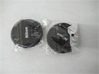 72MM Center Pinch Lens Cap for Nikon DSLR Lenses