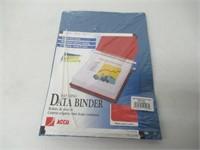 Acco Hanging Data Binder - Dark Blue