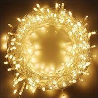 Look No Plug By Festive 600 LED Twinkling Lights