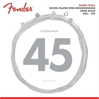 Fender Nickel Plated Bass Guitar Strings, Medium