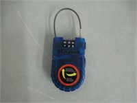 """""""As Is"""", Master Lock 4605D Retractable Cable Lock,"""