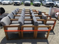 Approximately (17) Large Lot of Chairs