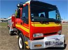 2001 Isuzu FSS 550 4x4 Fire Truck