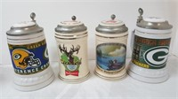 April 2 Estate Jewelry Budweiser Steins Harbour Lighthouses