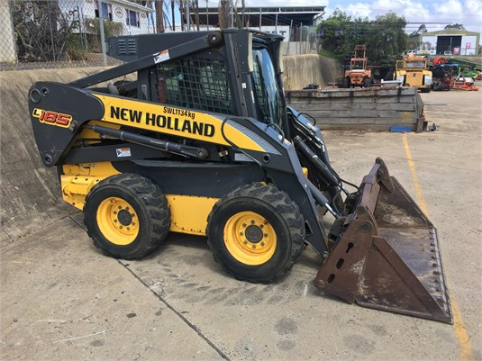 New Holland L185 Black Truck Sales - Heavy Machinery for Sale