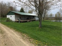 10 Acre Parcel W/Pond & Mobile Home