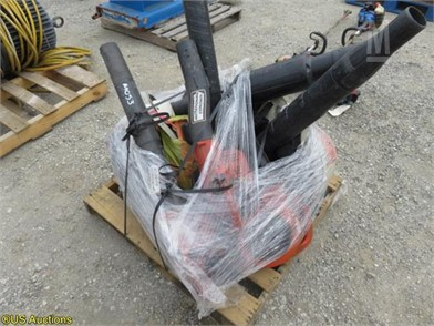 1) PALLET OF LEAF BLOWERS Other Auction Results - 1 Listings