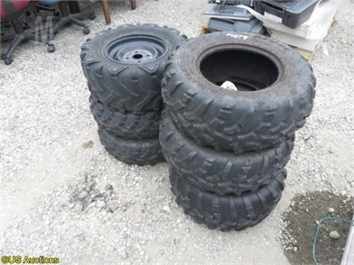 Pleasant 6 Atv Rubber Tires Other Auction Results 1 Listings Creativecarmelina Interior Chair Design Creativecarmelinacom
