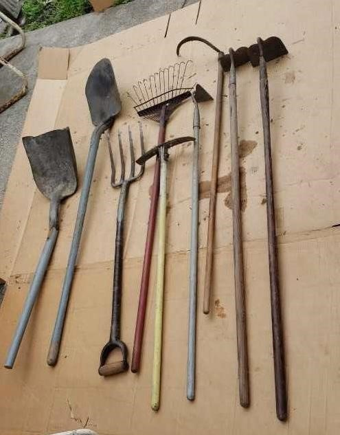 Old Garden Tools Auctions By Schackmann