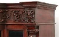 RJ Horner Mahogany 2 Door Bookcase