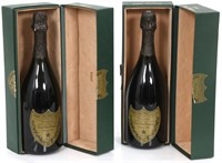 Two Bottles of 1988 Dom Perignon Champagne