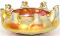 3 Pieces of Steuben Gold Aurene