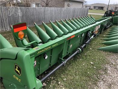 Gebruikt JOHN DEERE 618C Te Koop - 41 Advertenties | Tractor