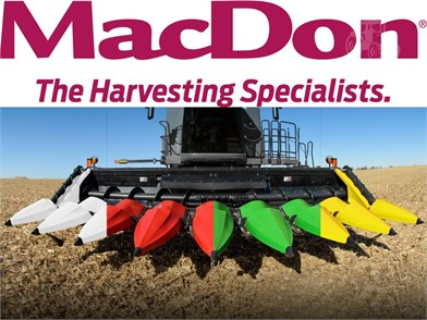 New Farm Equipment For Sale By Sandhills Showroom - MacDon