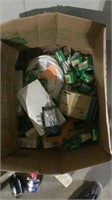 Assorted Bearings and Electronic Supplies-