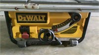"Dewalt 10"" Compact Jobsite Table Saw-"