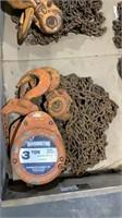 Harrington 3-Ton Chain Hoist