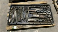 (approx qty - 45) Assorted Drill Bits-