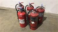 (qty - 5) 20 lb Fire Extinguishers-