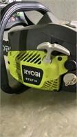 "Ryobi 14"" 37cc Gas Chainsaw-"