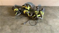 (qty - 5) Assortment of Non-Working Ryobi Saws-