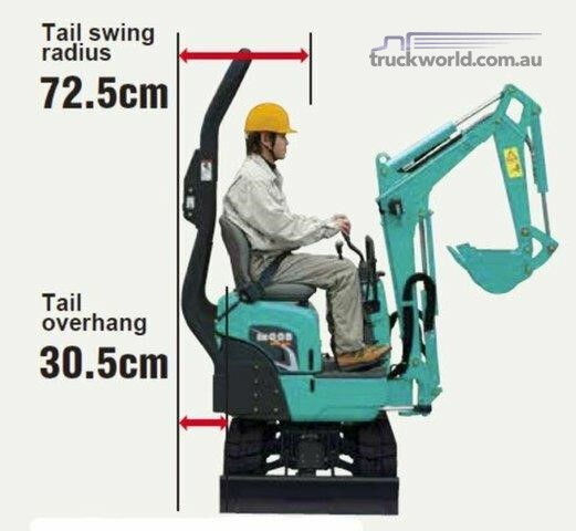 Kobelco SK008 Excavators - Mini - Dealer New Heavy Machinery Sales