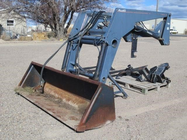 Allied 795 Front End Loader | HiBid Auctions
