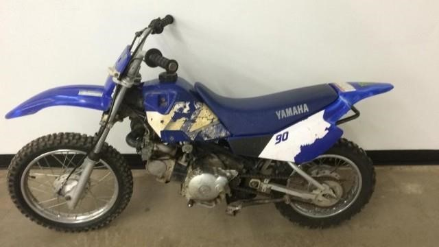 Early 2000 S Yamaha Ttr 90 Dirt Bike Lee Real Estate Auction Service