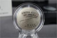 2014 Baseball Hall of Fame Half Dollar Proof