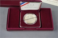 1988 US Mint Olympic Silver Proof Dollar Comm.