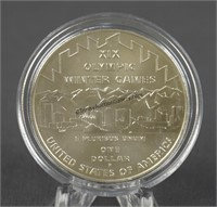 2002 Olympics Salt Lake City Silver Dollar