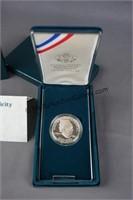 1990 Eisenhower Silver Dollar Proof Commemorative