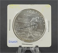 1991 Korea Silver Dollar Commemorative