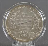 2010 Disable Veterans Silver Dollar Commemorative