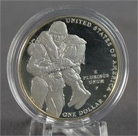 2011 Medal of Honor Silver Dollar Commemorative