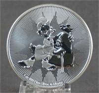 2018 Niue 1oz. Silver Disney Scrooge McDuck Coin