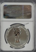 2015 Tokelau 1oz. Silver Year of the Goat NGC PF69