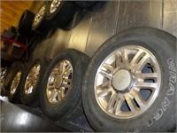 King Ranch 6 bolt wheels- 275 / 65/ 18