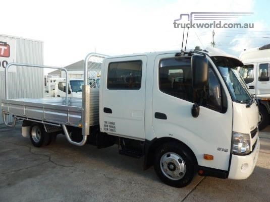 2013 Hino 300 Series 616 Crew Auto Trucks for Sale