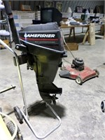 GameFisher 9.9 outboard boat motor