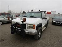 1998 GMC 2500 180000 KMS