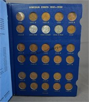1941-1958-D Lincoln Wheat Penny Book Set