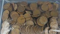 250 Lincoln Wheat Pennies 1909-1958