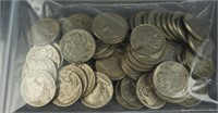 60 Buffalo Nickels 1920's-1930's