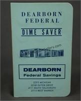30 Mercury Silver Dimes in Dearborn Dime Saver