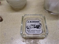 advertisment ash tray